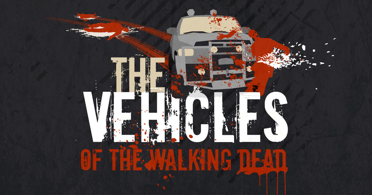 Roadloans Bad Credit Auto Loans >> The Vehicles of The Walking Dead [Infographic] | RoadLoans