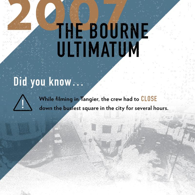 """Tangier street scene in """"The Bourne Ultimatum"""""""