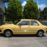 A Toyota Corolla Tercel similar to Andy's first car. Tercel means male hawk, by the way. Credit: ToyotaReference.com