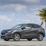 The 2017 Honda HR-V, winner of KBB's best subcompact/crossover category. Credit: Honda/Newspress USA