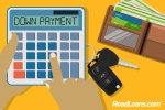 How much should a down payment on a car be?