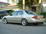 The 1996 Silver Nissan Altima: Greatest car on Earth