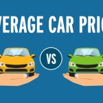 Average car price, new vs used