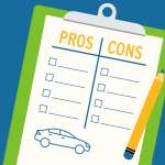 Pros and cons of buying a used car list