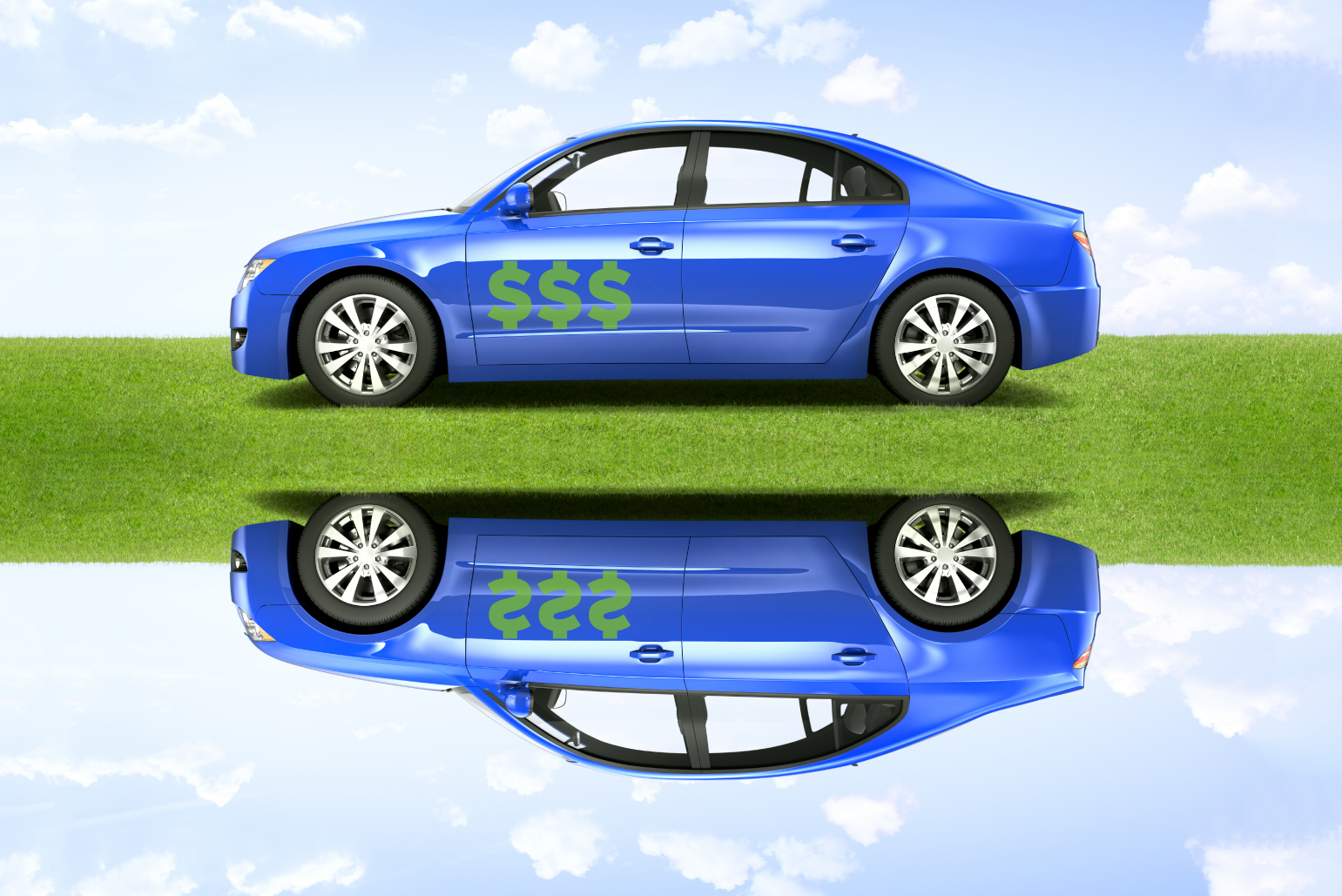 Vehicle with an upside-down car loan