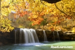 Ozark Mountains waterfall