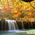 Ozark Mountains waterfall