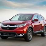 A Honda CR-V sports utility