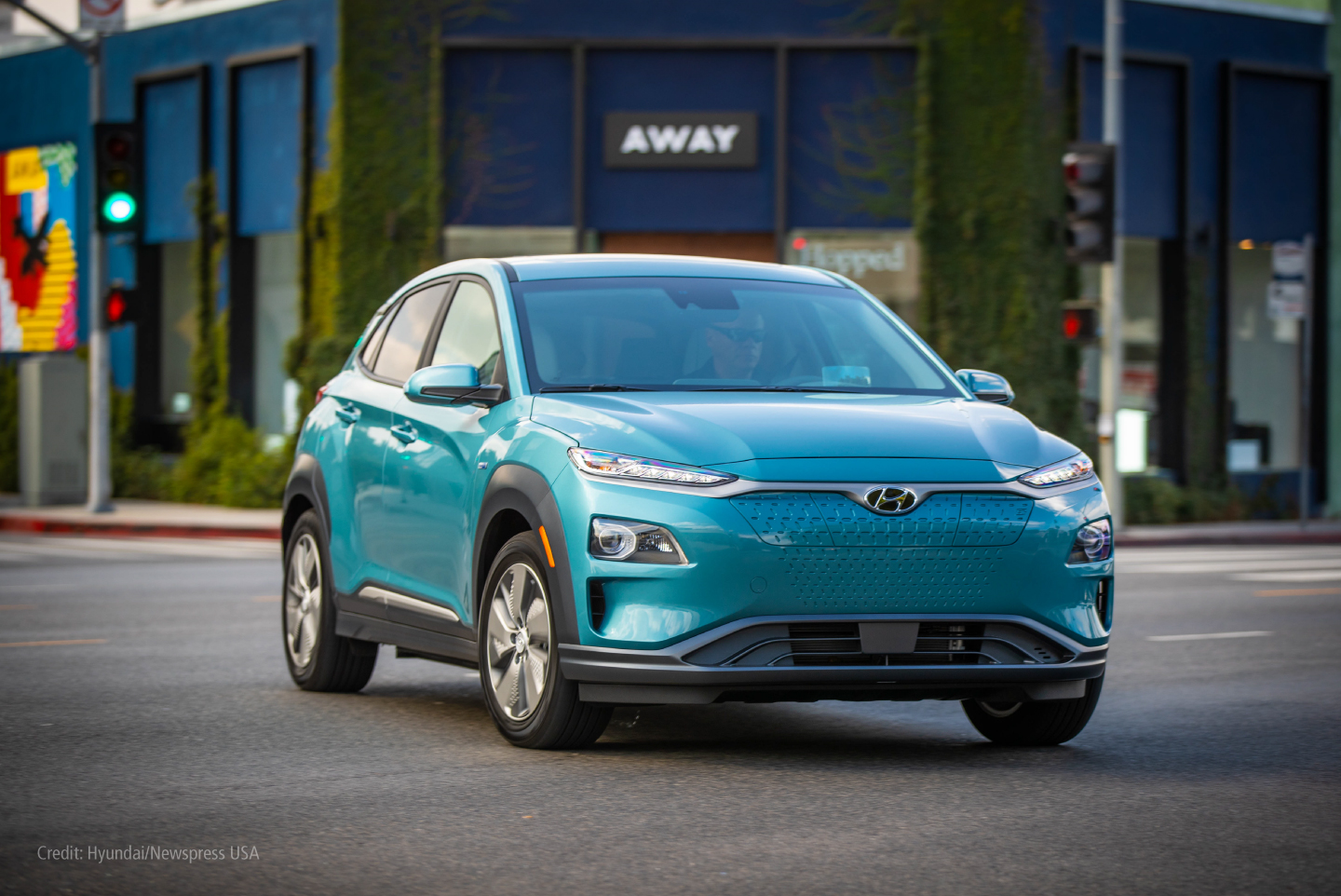 Hyundai Kona utility vehicle