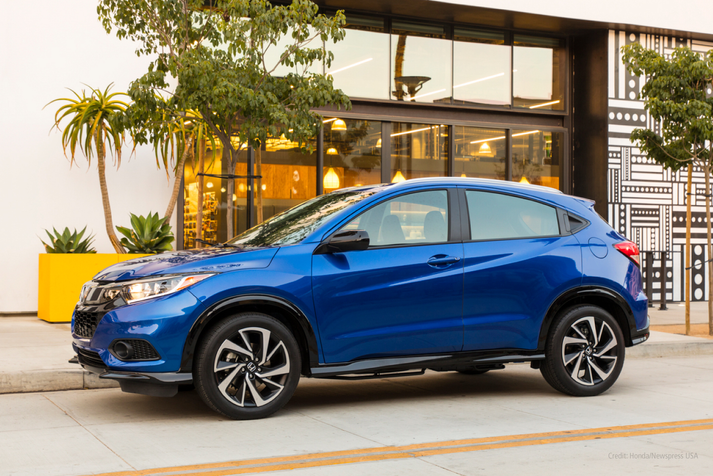 Honda HR-V parked on street